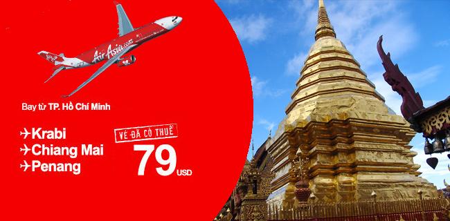 Du lịch cùng Air Asia chỉ với 79USD