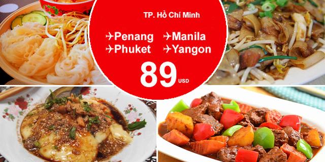 Khám phá ẩm thực thế giới cùng Air Asia
