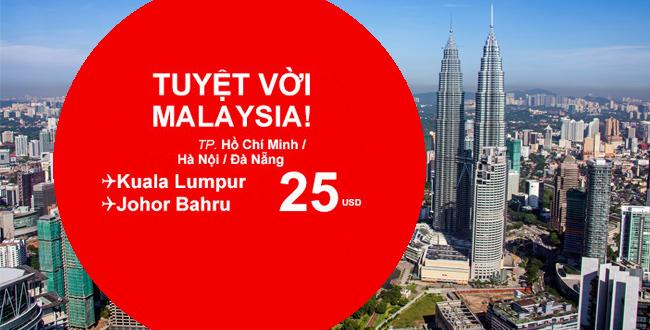 Du lịch Malaysia chỉ từ 25USD