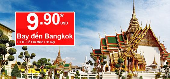 Du lịch Bangkok chỉ 9,9USD