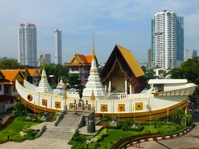 Những ngôi chùa nổi tiếng tại Bangkok