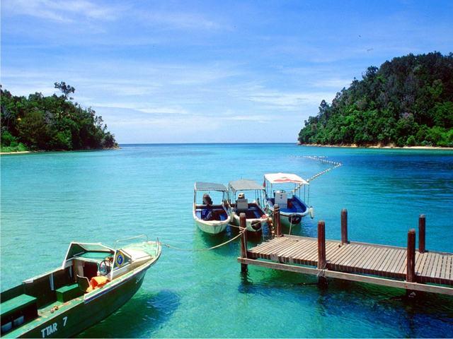 Đẹp mê hồn tuyệt tác các hòn đảo Malaysia
