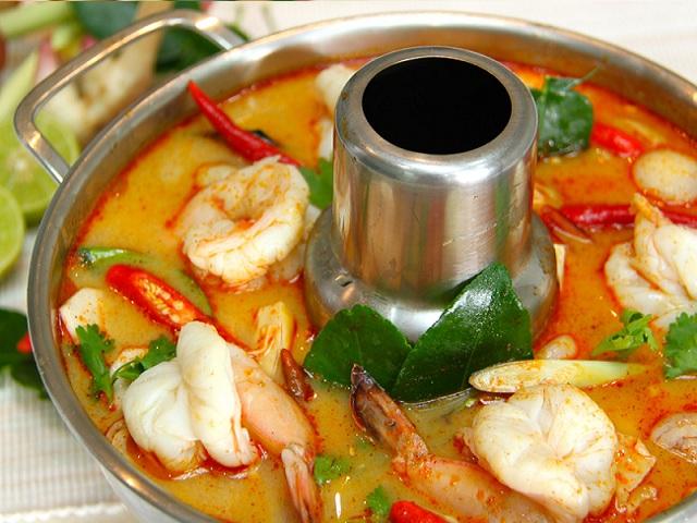 Ẩm thực Thái Lan nổi bật những món ăn độc đáo