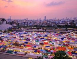 Top 10 khu chợ nổi tiếng ở Bangkok, Thái Lan