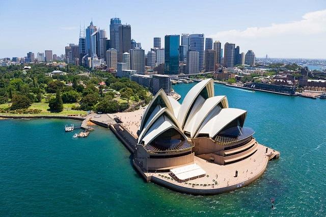 Vé máy bay đi Australia